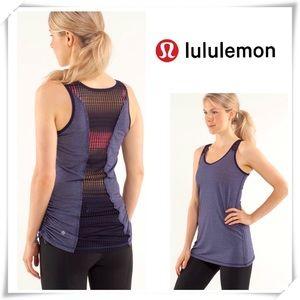 Lululemon Run Tie and Fry Loose fit Tank Purple